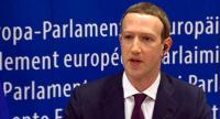 This video grab taken from the European Commission channel EBS, shows Facebook CEO Mark Zuckerberg during his audition at the European Parliament on the data privacy scandal on May 22, 2018 at the European Union headquarters in Brussels. // AFP PHOTO