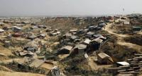 File photo : Overview of the extended camps for the newly arrived Rohingya refugees at Kutupalong in UKhiya, Cox's Bazar, Bangladesh in February.//EPA-EFE