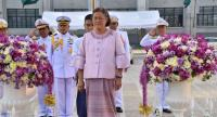 File photo: Her Royal Highness Princess Maha Chakri Sirindhorn presides over the Buddhism promotion week opening ceremony at the Bangkok Metropolitan Administration head office last week.