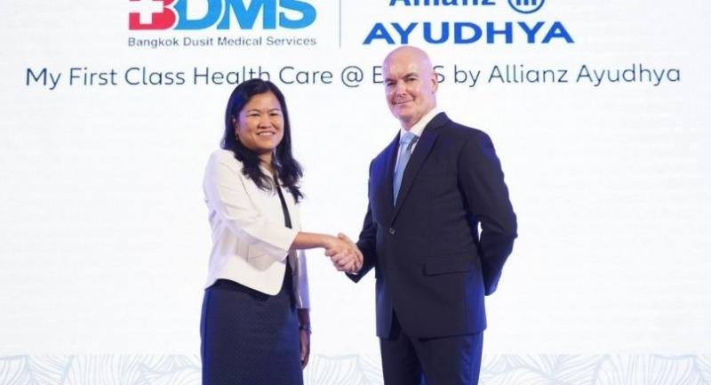 Allianz Ayudhya offers health insurance with BDMS