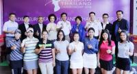 Organisers and players of the Ladies European Thailand Championship at the Phoenix Gold Golf