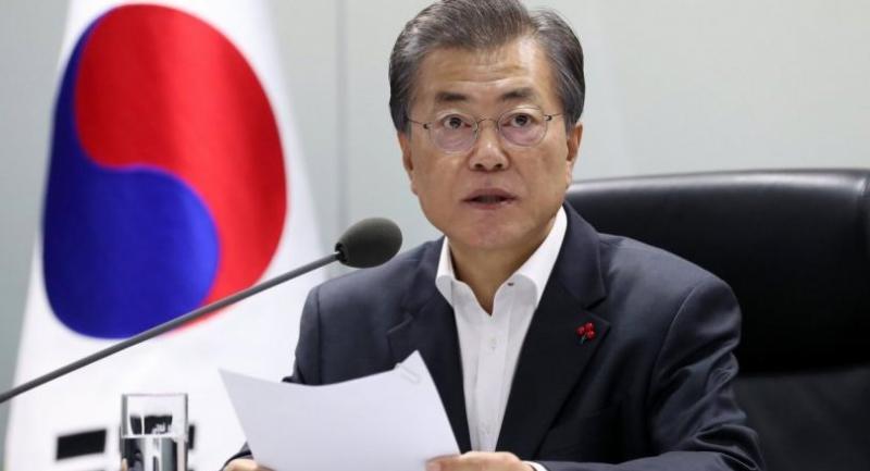 File photo : Moon Jae-in//EPA-EFE