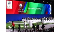 Presentation of the United2026 bid (Canada-Mexico-US) during the 68th FIFA Congress at the Expocentre in Moscow on June 13, 2018.