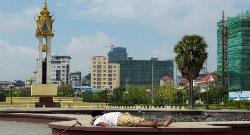 File photo : Phnom Penh//AFP