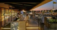 Sunset ambience at the alfresco Ciao Terrazza