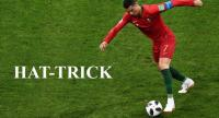 Cristiano Ronaldo made it clear that he means business at this World Cup after his stunning hat-trick secured a 3-3 draw here with Spain in a tournament classic and saw him reach another career landmark.