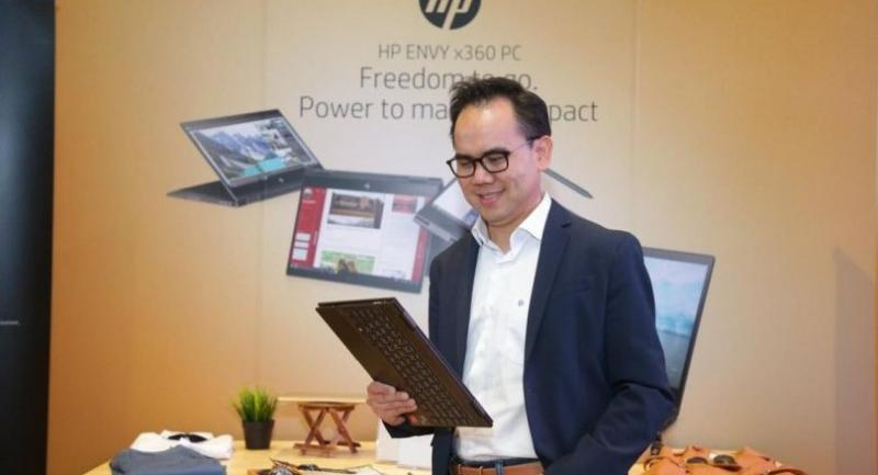Pavin Vorapruck, managing director of HP Inc (Thailand)