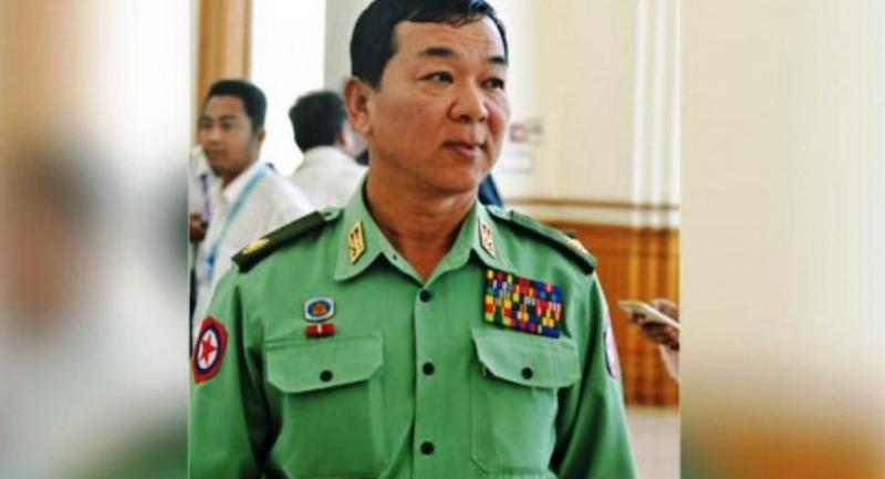 Major General Maung Maung Soe//Dhaka Tribune