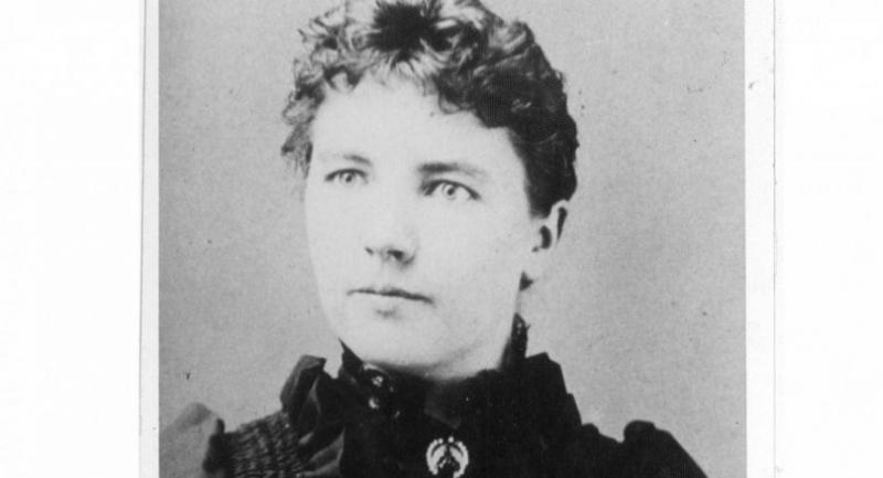 This file photograph provided February 2, 2015 by the South Dakota Historical Society in Pierre, South Dakota, shows author Laura Ingalls Wilder. (South Dakota Historical Society/AFP/File)