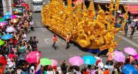 A colourful festival to mark Khao Phansa. Photo: Manoon Pongpanpath, TAT Newsroom Contest.
