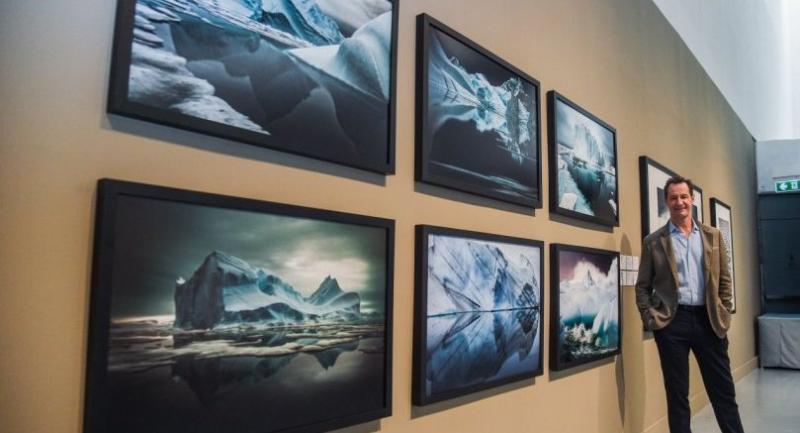 Sebastian Copeland, a polar explorer as well as an award-winning photographer, has travelled 8,000 kilometres across the Arctic, Antarctic and Greenland on foot and has 15 dramatic images in the show. Nation/Chalinee Thirasupa