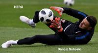 Croatia's goalkeeper Danijel Subasic
