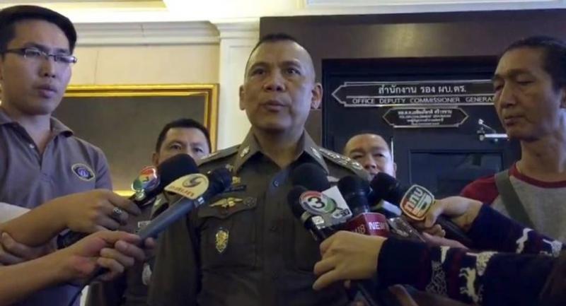 Deputy national police chief Chalermkiart Sriworakhan