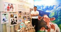 Thanasarn Khamruangrig, founder and managing director of Gold Milk Group, has built up a business group that pulls in sales of around Bt700 million a year.