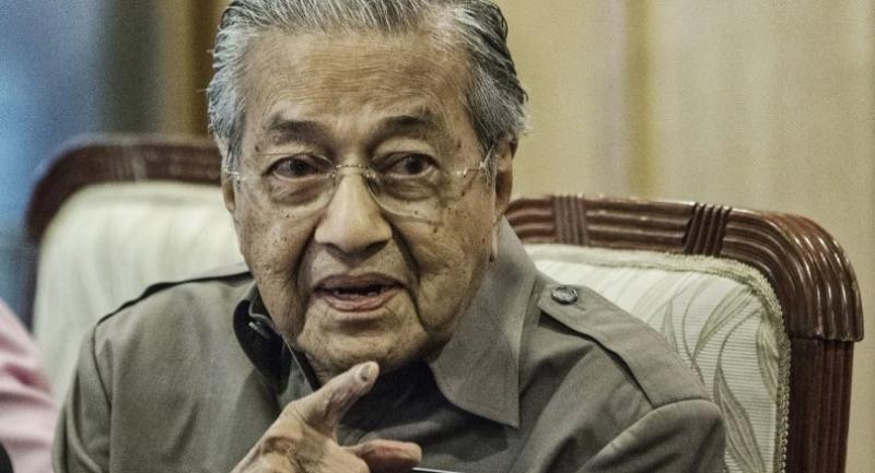 File photo : Mahathir Mohamad//EPA-EFE