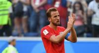 England's forward Harry Kane applauds after losing their Russia 2018 World Cup play-off for third place football match between Belgium and England at the Saint Petersburg Stadium in Saint Petersburg on July 14, 2018. / AFP PHOTO