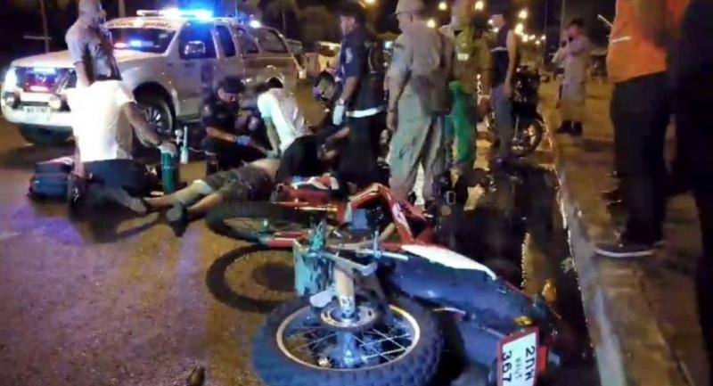 Swedish tourist killed in Pattaya motorcycle crash