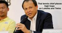 Lawn Tennis Association of Thailand president Kitsombat Euammongkol  /  PHOTO BY WANCHAI KRAISORNKHAJIT