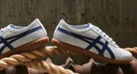 Tsunahiki Glacier Grey and Indigo Blue sneakers