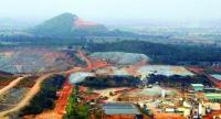 File photo: Akara Resources' gold mine in Phichit.