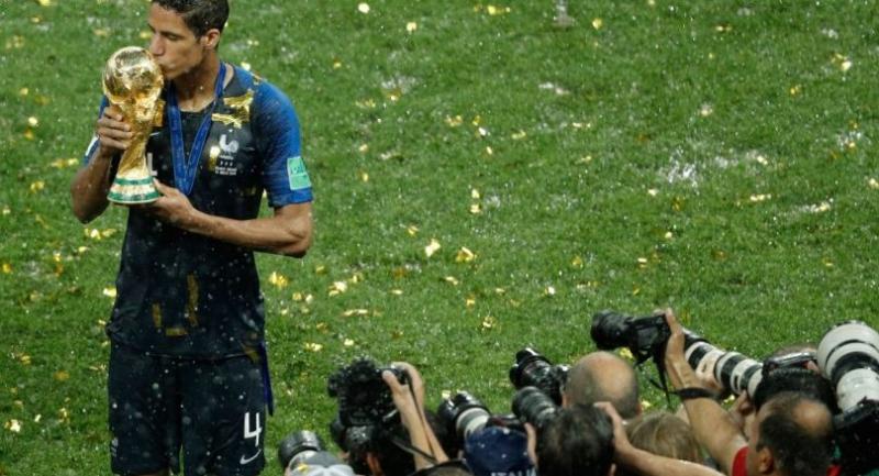 File photo : Raphael Varane//AFP