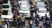 File photo: Traffic jam in Bangkok.