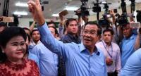 Photo : Hun Sen/AFP