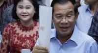Hun Sen//Photo : AFP