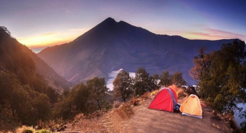 File photo : Mount Rinjani