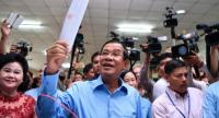 File photo : Hun Sen
