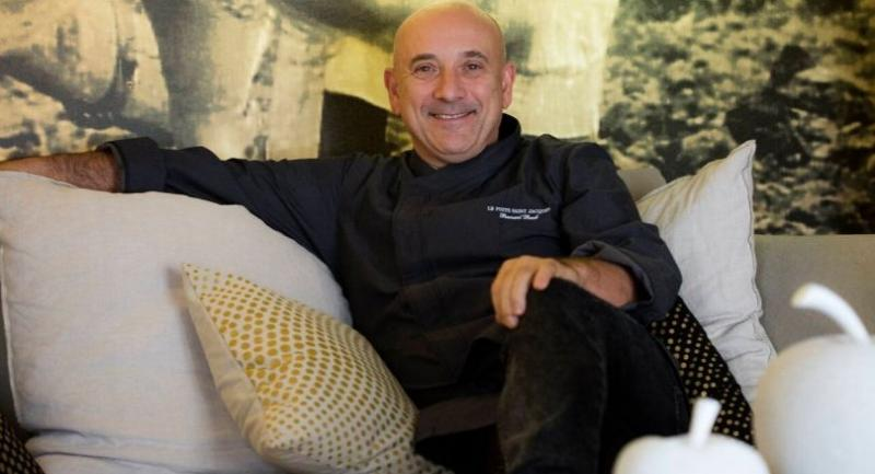 Chef Bernard Bach from Le Puits Saint-Jacques in Toulouse