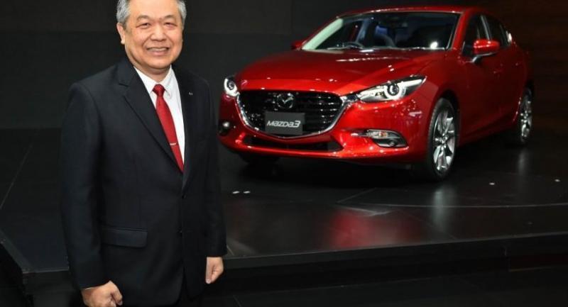 Chanchai Trakarnudomsuk, president of Mazda Sales (Thailand) Co Ltd