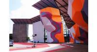 A wall climbing arena in Jakabaring Sport City (JSC), Palembang, South Sumatra. (JP/Jessicha Valentina)