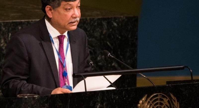 AFP file photo: Myanmar has not made any demonstrable effort to address the concerns of the Rohingyas and the international community: BANGLADESH AMBASSADOR TO THE UN MASUD BIN MOMEN