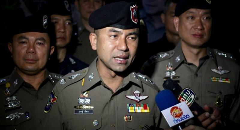Deputy tourist police chief Pol Maj Gen Surachet Hakpal