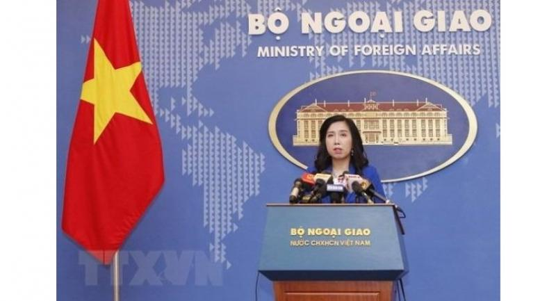 Vietnam  Ministry of Foreign Affairs spokeswoman Le Thị Thu Hang