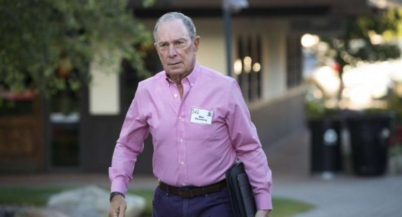 AFP file photo:  Michael Bloomberg, former New York City mayor and chief executive officer of Bloomberg L.P.