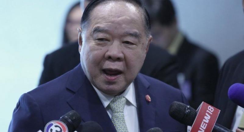 File photo: Deputy Prime Minister General Prawit Wongsuwan
