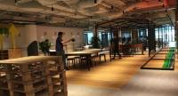 Play area of JustCo, which is  Co-Working Space, at Marina Square, Singapore.