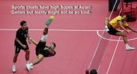 Thai sepak takraw doubles team from the 2017 SEA Games.