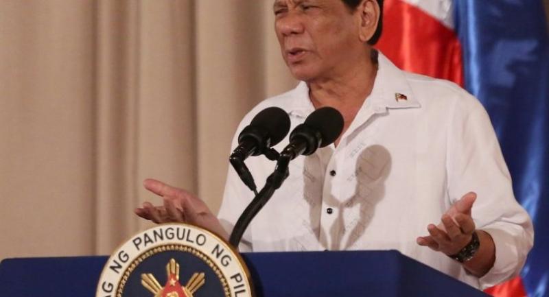 File photo : Duterte