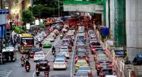 Traffic at Bangkok's Lat Phrao intersection where a major Skytrain line is being constructed is set to worsen as another four mass transit lines are about to be built.