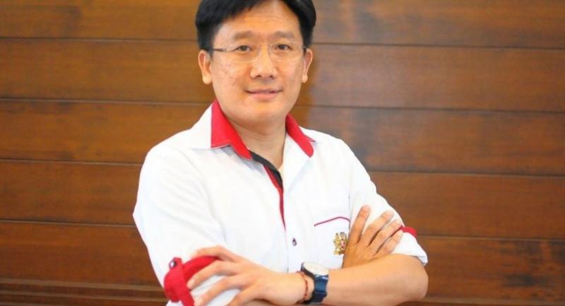Pongsathorn Ansusinha, director for corporate affairs of Philip Morris (Thailand)