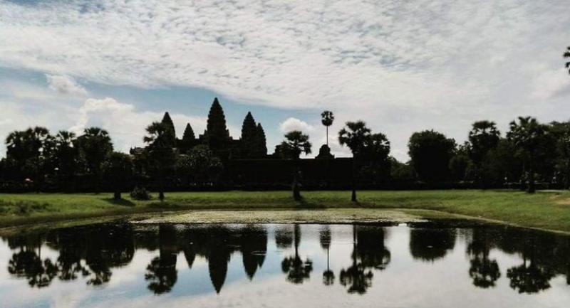 The Angkor Wat in Cambodia. (SNS Photo: Sanghamitra Mazumdar)
