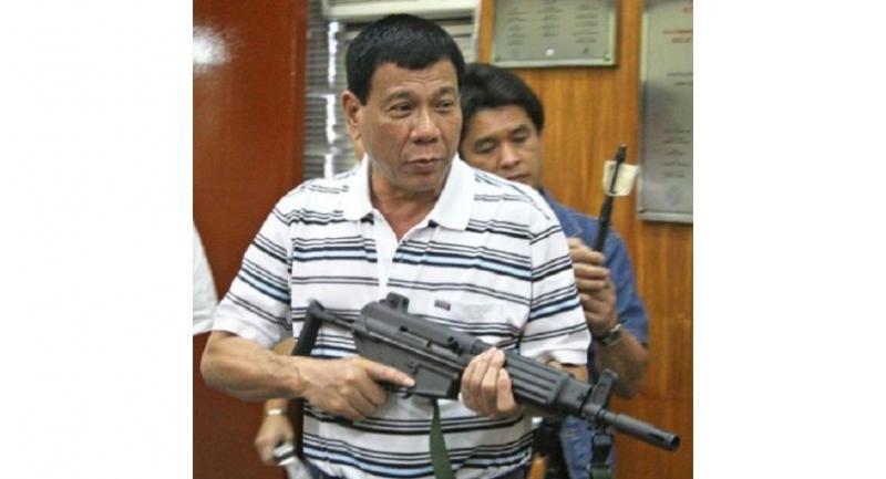 File photo : Rodrigo Duterte