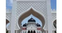 File photo of the Baiturrahman Grand Mosque in Banda Aceh, Indonesia.