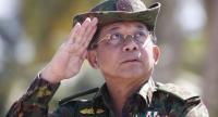 File photo : Min Aung Hlaing//EPA-EFE