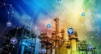 The Industrial Internet of Things (IIOT) connects the plant with model-based sensors on all equipment.