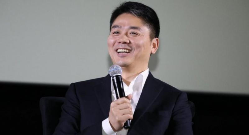 File photo: Richard Liu speaks during a seminar in Bangkok in 2017.