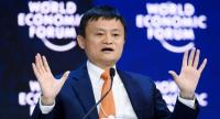 In this file photo taken on January 24, 2018, Alibaba Executive Chairman Jack Ma speaks during the annual World Economic Forum (WEF) on in Davos, eastern Switzerland./AFP